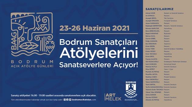 """BODRUM'DA """"AÇIK ATÖLYE GÜNLERİ"""""""